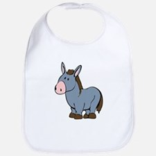 Cartoon Donkey Bib
