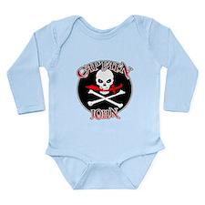 Captain John Long Sleeve Infant Bodysuit