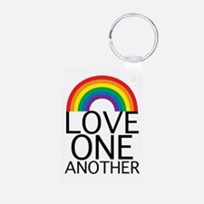 Love One Another Keychains