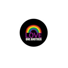 Love One Another Mini Button (10 pack)