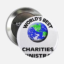 "World's Best Charities Administrator 2.25"" Button"