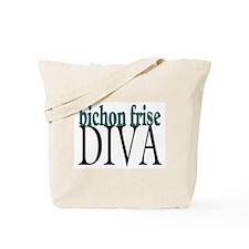 Bichon Frise Diva Tote Bag