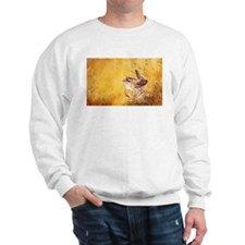Watercolor Wren Bird Sweater