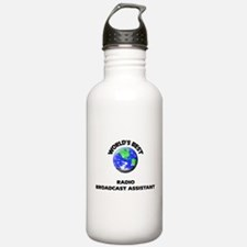 World's Best Radio Broadcast Assistant Water Bottl