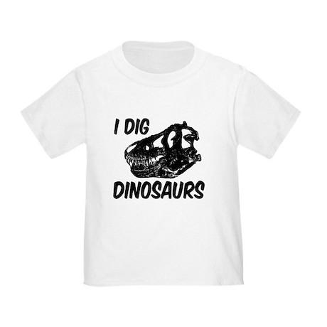 T Rex I Dig Dinosaurs Toddler T-Shirt