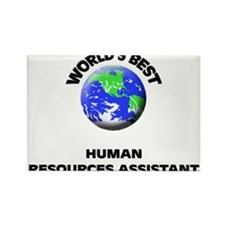 World's Best Human Resources Assistant Rectangle M