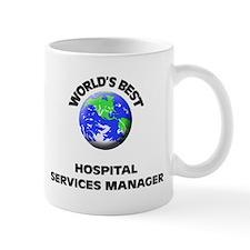 World's Best Hospital Services Manager Mug