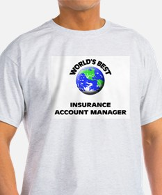World's Best Insurance Account Manager T-Shirt