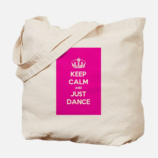 Keep Calm, Just Dance Apparel Tote Bag