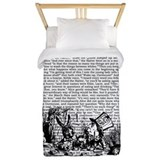 Alice in wonderland Twin Duvet Covers