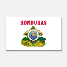 Honduras Coat Of Arms Designs Rectangle Car Magnet