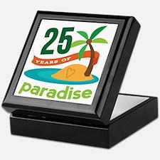 25 Years Of Paradise 25th Anniversary Keepsake Box