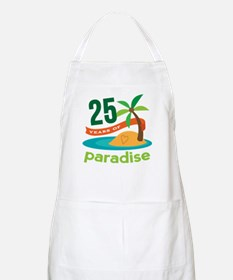 25 Years Of Paradise 25th Anniversary Apron