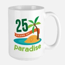 25 Years Of Paradise 25th Anniversary Mug