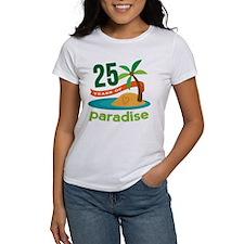 25 Years Of Paradise 25th Anniversary T-Shirt