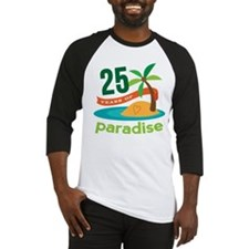 25 Years Of Paradise 25th Anniversary Baseball Jer