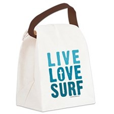 live-love-surf-bag.png Canvas Lunch Bag