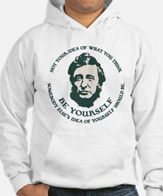 Thoreau - Be Yourself Hoodie