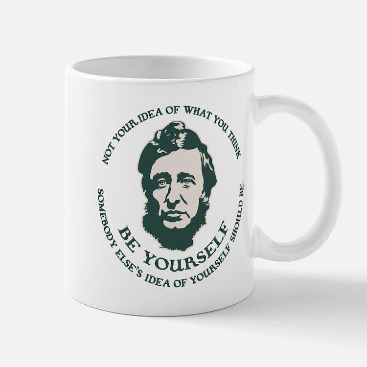 Thoreau - Be Yourself Mug