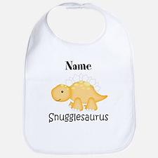 Personalized Snugglesaurus Bib