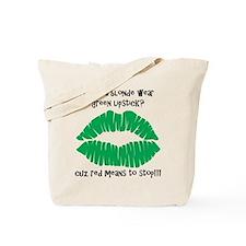 Blonde Joke Tote Bag