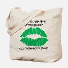 Blonde Joke Tote Bag