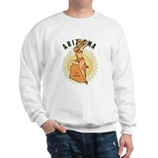 Vintage Arizona Pinup Sweatshirt