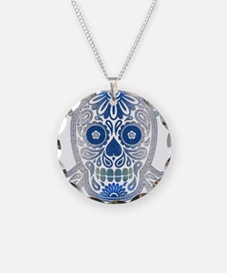 Day of the Dead Skull Necklace