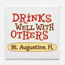 St. Augustine - Drinks Well Tile Coaster