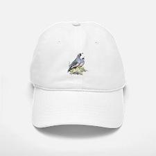 Watercolor California Quail Bird Baseball Baseball Cap