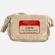 Cookign Show Name Tag - Carla Messenger Bag