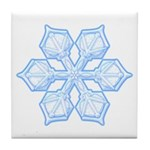 Flurry Snowflake XIX Tile Coaster
