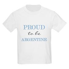 Argentine Pride Kids T-Shirt