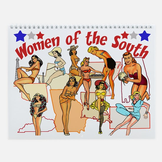 Women of the South Wall Calendar