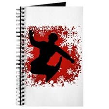 Snowboarding (Red) Journal