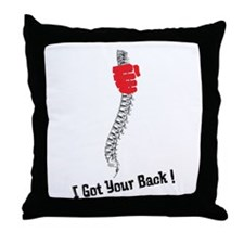 I got your back! Throw Pillow