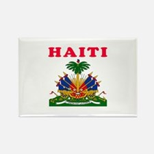 Haiti Coat Of Arms Designs Rectangle Magnet