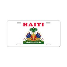 Haiti Coat Of Arms Designs Aluminum License Plate