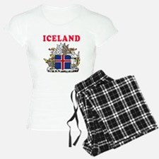 Iceland Coat Of Arms Designs Pajamas
