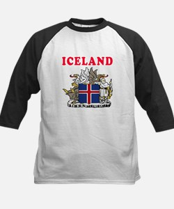 Iceland Coat Of Arms Designs Tee