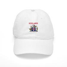 Iceland Coat Of Arms Designs Baseball Cap