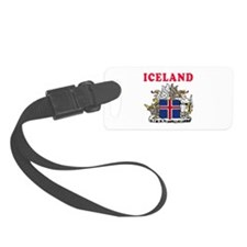 Iceland Coat Of Arms Designs Luggage Tag