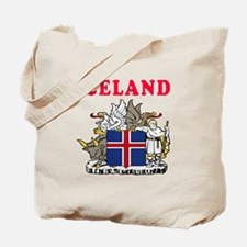 Iceland Coat Of Arms Designs Tote Bag