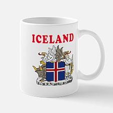 Iceland Coat Of Arms Designs Mug