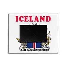 Iceland Coat Of Arms Designs Picture Frame