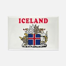 Iceland Coat Of Arms Designs Rectangle Magnet (10
