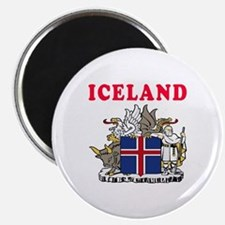 Iceland Coat Of Arms Designs Magnet