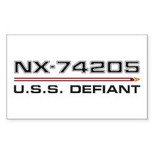 USS Defiant DS9 Dark Decal