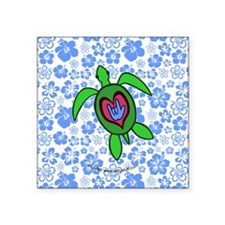 ILY Hawaii Turtle Sticker
