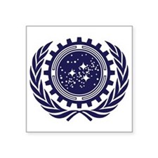 United Federation of Planets 2013 Dark Logo Square